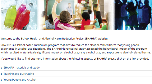 Alcohol Harm Reduction Project