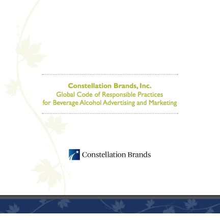 Global Code of Responsible Practices for Beverage Alcohol Advertising and Marketing