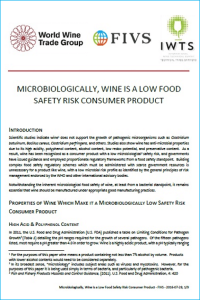Microbiological Safety of Wine